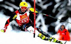 Marcel Hirscher Skiing