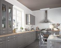 Indogate.com | Cuisine Gris Sable | Cuisine | Pinterest | Ikea ...