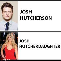 Josh Hutcherson, Josh Hutcherdaughter