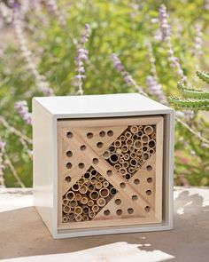 Bee House - Insect Hotel - Bug Hotel - Urban Bee and Insect Nester $40