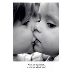 Poetische Postkarte Liebe: Weißt Du eigentlich, wie lieb ich Dich hab?
