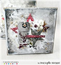 created by Kasia Bogatko: Winter Wonderland - christmas cards with 7 Dots Studio