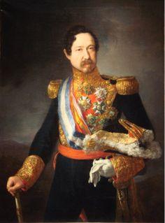 Retrato del general Ramón María Narváez, I duque de Valencia (1800-1868) de Vincente López Portaña