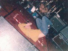 Morrissey: The Smiths at Fairways Hotel, Dundalk, Ireland on February 11, 1986 ― via goldenlightsfan Tumblr.