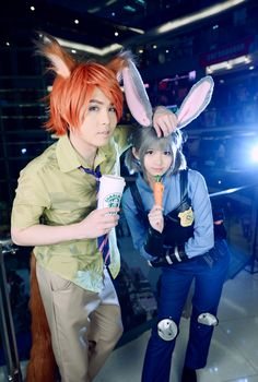 Judy and Nick - Zootopia - Sir Tian Nick Wilde, Judy Hopps Cosplay Photo - Cure WorldCosplay