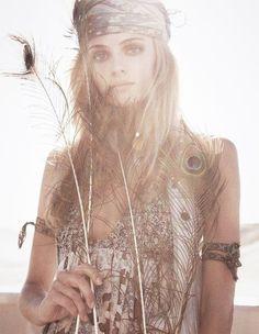 ☮ American Hippie Bohéme ☮  Brown Boho ☮