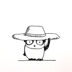 【一日一大熊猫】2017.5.28 日焼け防止に帽子を買ってみたよ。 どこの日焼けって? そりゃ頭皮に決まってる。 頭皮の日焼けってなんか発毛に悪そう。 #パンダ #日焼け #帽子