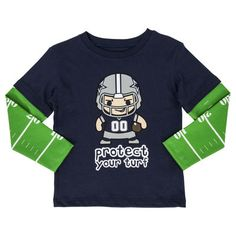 Toddler Dallas Cowboys Navy Roxton Layered Long Sleeve T-Shirt. Dallas  Cowboys Pro ShopCowboy ... e43181ce2