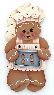 HP GINGERBREAD FRIDGE MAGNET little baker