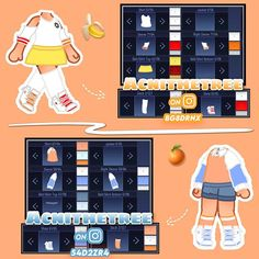 Cute Swag Outfits, Club Outfits, Girl Outfits, Manga Clothes, Drawing Anime Clothes, Cartoon Outfits, Anime Outfits, Cute Anime Character, Character Outfits
