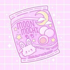 Faith Varvara — Little pack of moon Mochi 💕🌙 Griffonnages Kawaii, Arte Do Kawaii, Cute Food Drawings, Cute Animal Drawings Kawaii, Cute Pastel Wallpaper, Kawaii Wallpaper, Stickers Kawaii, Cute Stickers, Cute Food Art