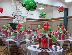 Grinch Whoville Christmas Party Holidays Decor (12)