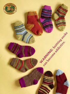 Knitting socks...