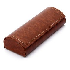 5175137a7bb Hard Shell Eyeglass Case Polermax PU Leather Vintage Pattern Glasses  Protective Case  Eyeglass Cases
