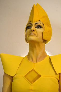 This is perfect --- Yellow Diamond Steven Universe