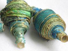 CAROLYN SAXBY: ocean coloured beads