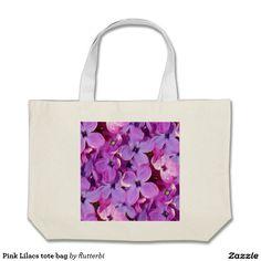 Pink Lilacs tote bag