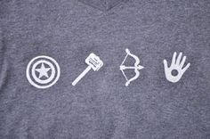 Avengers freezer paper stencil
