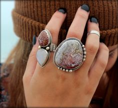 Hey, I found this really awesome Etsy listing at https://www.etsy.com/listing/191165100/moonstone-statement-ring-large-moonstone