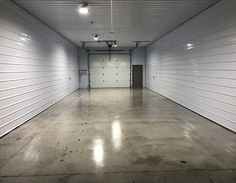 Alternative Finishes for Interior Concrete Floors | Concrete Decor Concrete Floors In House, Prefab Container Homes, Concrete Finishes, Carpet Installation, Basement Flooring, Building A House, Alternative, Garage, Indoor