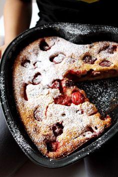 Clafoutis – azaz tejpite a la Virginia Woolf Virginia Wolf, Pound Cake, Acai Bowl, Tart, Pie, Breakfast, Food, Acai Berry Bowl, Torte