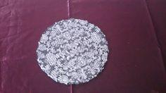 Untersetzer durchmesser ca. 23cm. aus Papier von Nerikunst auf Etsy, €6.00