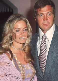 """Farrah Fawcett and Lee Majors...The """"Six Million Dollar Man"""" and the """"Angel"""" Seemed to Be Made For One Another...But, Sadly, That Was Only In Hollywood Magazines...Behind the Scenes, Fawcett Found Lee Controlling and Ran Into the Arms of Majors' Pal, Ryan O'Neal...Divorce Came and Farah Never Married Again...But Stayed With O'Neal Off and On For Decades, Until Her Untimely Death..."""