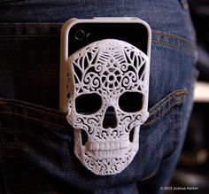 Cool Skull iPhone Case #3D_printing