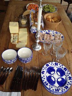 Desayuno campestre vajilla Carmen de viboral