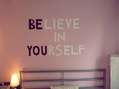 BElieve inYOUrself