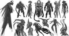 ArtStation - Character thumbs 01, Rahul Philip