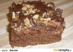 Dobrota z jablek a ořechů recept - TopRecepty.cz Cookie Recipes, Dessert Recipes, Mini Cheesecakes, Sweet Cakes, Sweet Desserts, Cake Cookies, Nutella, Food And Drink, Sweets