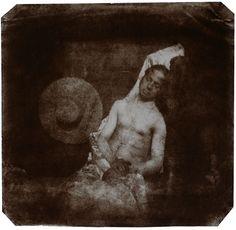 Autorretrato afogado (1840), de Hippolyte Bayard. Leia um breve ensaio sobre fotografia e ficção, em torno do autorretrato de Bayard: http://incinerrante.com/autorretrato-afogado-1840-de-hippolyte-bayard/