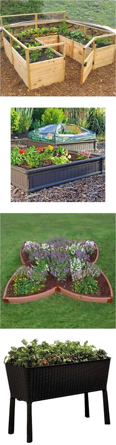 13 Raised Garden Bed Kits That Are Easy To Assemble #garden #raised_bed