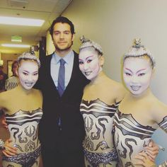 Great #flashbackfriday post of @HenryCavill from the Tonight Show with Jay Leno in 2013. #Repost @bayarmabella ・・・ With Henry Cavill 4 years ago... at the Tonight Show...#timeflies #liveshow #losangeles #henrycavill #actor #celebrity #contortionist #cirquedusoleil #moviestar #throwback #instadaily #backstage #liveperformance #ellen #superman #celeb #iris #la #lalife #tvshow #ca #coolmoments