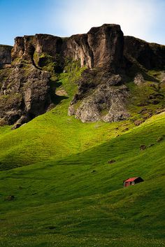 Mountain Cabin, southern Iceland