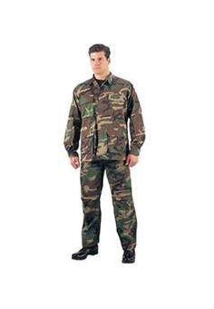 Woodland Camouflage Rip Stop BDU Pants @$54.99 ! Buy Now at gorillasurplus.com