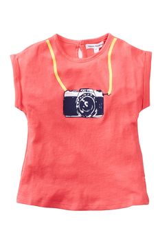 Camera Tee (Baby Girls) by French Connection on @nordstrom_rack