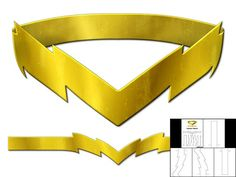 Template for Flash Belt Craft Projects For Kids, Sewing Projects, Book Crafts, Diy And Crafts, Reverse Flash, Diy Costumes, Costume Ideas, Halloween Costumes, Costume Patterns