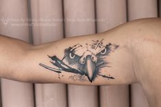 customize Tattoo Design  Eagle and Compass the person who love the traveling in different places  so we are create tis type of design  Design By :Rohit Jack Tattoo By: Sonu Rawat