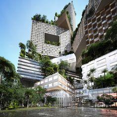 Ontwerp voor verticale stad van MVRDV - PhotoID #248416 - architectenweb.nl