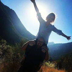 Christina and I goofing around in the Wasatch Mountains.:-) #fun #bestfriend #adventure #utahphotographer #utah #like4like #likeforlike #photography #love #peace #strongman #utahmountains http://ift.tt/2g7trho