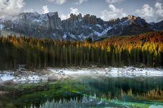 Lake Carezza, Italy