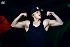 "149 Likes, 5 Comments - NIN-97 (BTOB) (@btob_amazing) on Instagram: ""Whoaa  can I gelantungan on your muscles Peniel? Ehem. Cr : summernight2mh"""