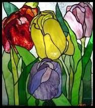 Image result for faux stained glass oriental patterns