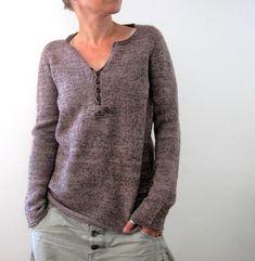 Drijfhout Knitting pattern by Isabell Kraemer Isabell Kraemer, Knitting Projects, Knitting Patterns, Knitting Ideas, Crochet Patterns, Sweaters For Women, Men Sweater, Ravelry, Silke