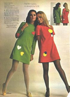 Colleen Corby  and Kathy Loghry. These two modeled together all the time in Sears catalogs in the 70s