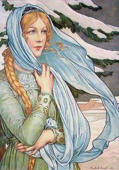 Invierno, Elizabeth Sonrel (1874-1953).