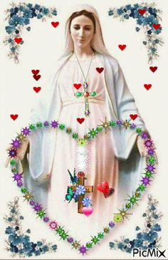 Most popular Picmix [p. 3 on Christmas Angel Crafts, Christmas Images, Virgin Mary Art, Jesus Christ Images, Good Night Sweet Dreams, Good Morning Gif, Holy Mary, Divine Mercy, Beautiful Gif