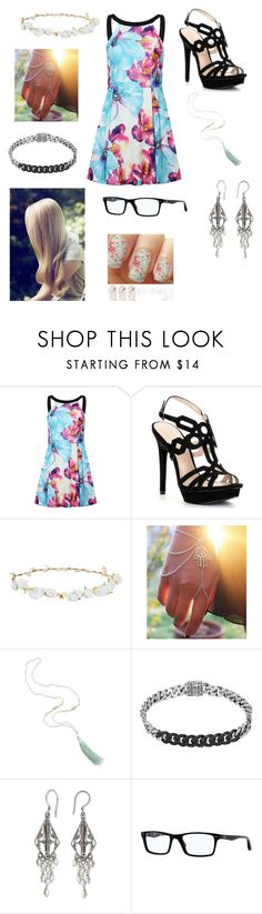 """""""The Job of a High School Host!"""" by fashion-anime-animals-reading ❤ liked on Polyvore featuring Pelle Moda, Design Lab, John Hardy, NOVICA and Ray-Ban"""